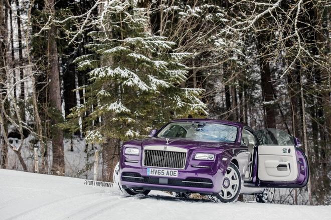 Rolls-Royce Wraith mau tim doc nhat the gioi hinh anh 8