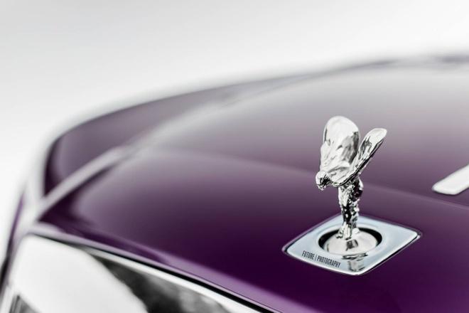 Rolls-Royce Wraith mau tim doc nhat the gioi hinh anh 2