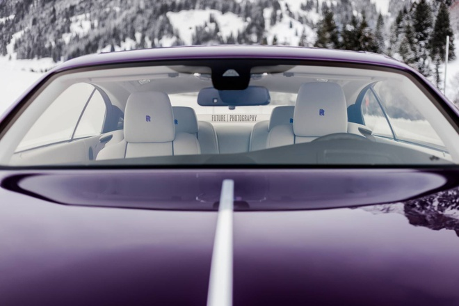 Rolls-Royce Wraith mau tim doc nhat the gioi hinh anh 3