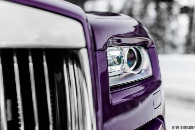 Rolls-Royce Wraith mau tim doc nhat the gioi hinh anh 4