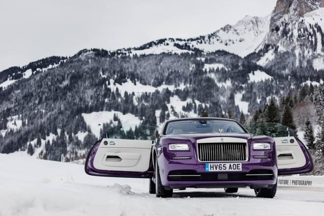 Rolls-Royce Wraith mau tim doc nhat the gioi hinh anh 5