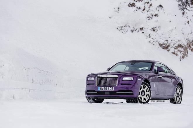 Rolls-Royce Wraith mau tim doc nhat the gioi hinh anh 6