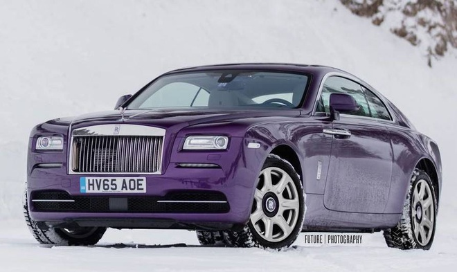 Rolls-Royce Wraith mau tim doc nhat the gioi hinh anh