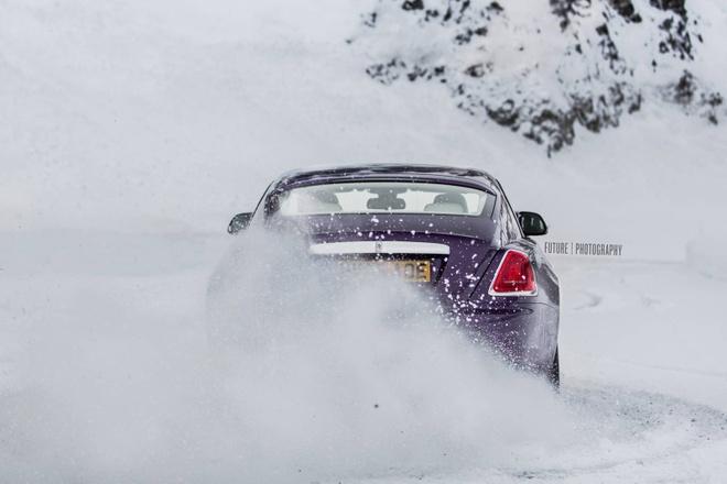 Rolls-Royce Wraith mau tim doc nhat the gioi hinh anh 7