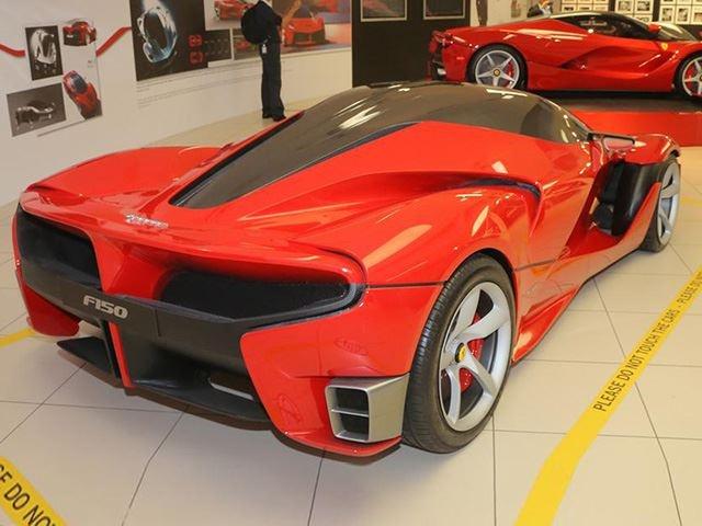 5 mau Ferrari khong bao gio duoc san xuat hinh anh 9