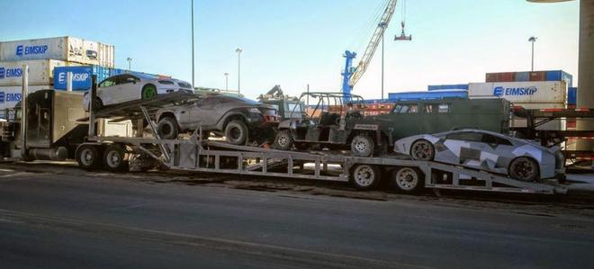 Lo dien dan sieu xe trong Fast & Furious 8 hinh anh 1