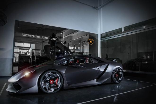 Sieu xe hiem Lamborghini Sesto Elemento bat ngo xuat hien hinh anh 1