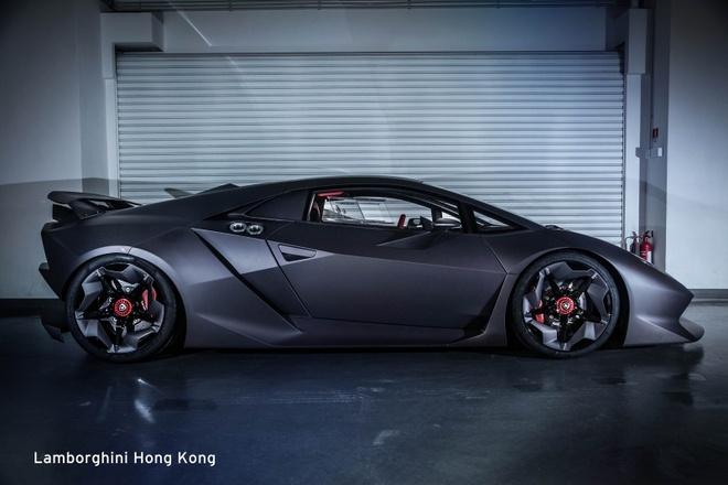 Sieu xe hiem Lamborghini Sesto Elemento bat ngo xuat hien hinh anh 2
