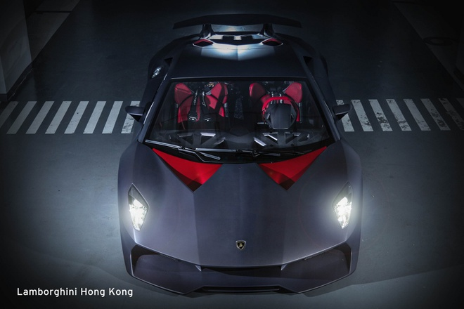Sieu xe hiem Lamborghini Sesto Elemento bat ngo xuat hien hinh anh 3