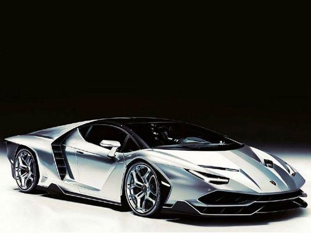 Lamborghini Centenario lo anh dau tien hinh anh