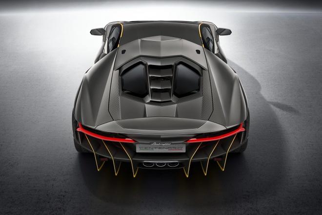 Lamborghini Centenario ra mat, gia 1,9 trieu USD hinh anh 4