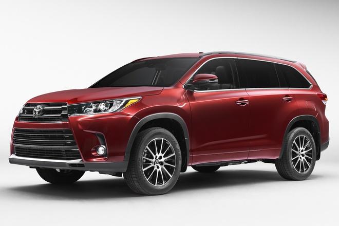 Toyota Highlander 2017 ra mat hinh anh