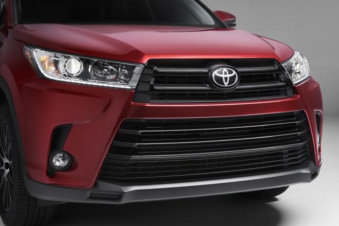 Toyota Highlander 2017 ra mat hinh anh 3