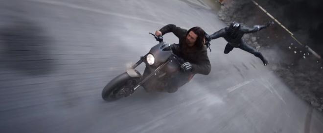 Harley he lo xe moi trong Captain America hinh anh