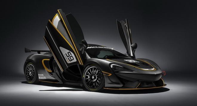 McLaren 570S GT4 chinh thuc trinh dien hinh anh
