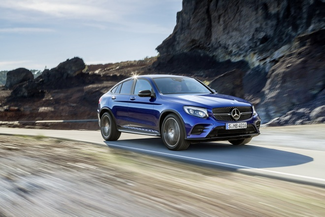 Mercedes Benz GLC Coupe ra mat anh 10