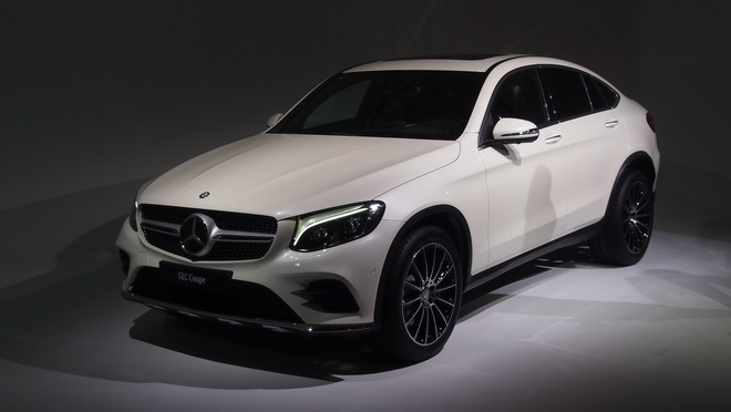 Mercedes Benz GLC Coupe ra mat anh 1