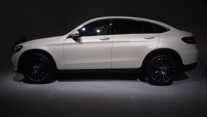 Mercedes Benz GLC Coupe ra mat anh 3
