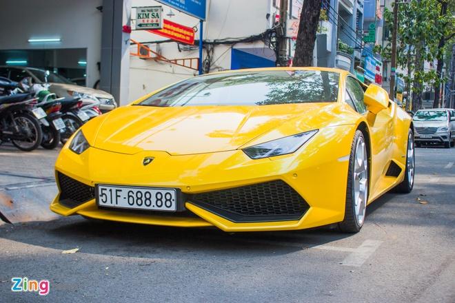 Lamborghini Huracan bien dep o Sai Gon anh 2