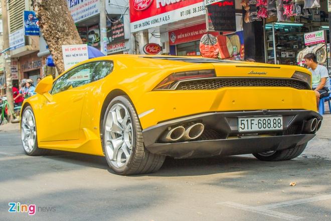 Lamborghini Huracan bien dep o Sai Gon anh 3