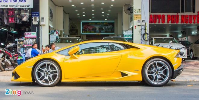 Lamborghini Huracan bien dep o Sai Gon anh 4