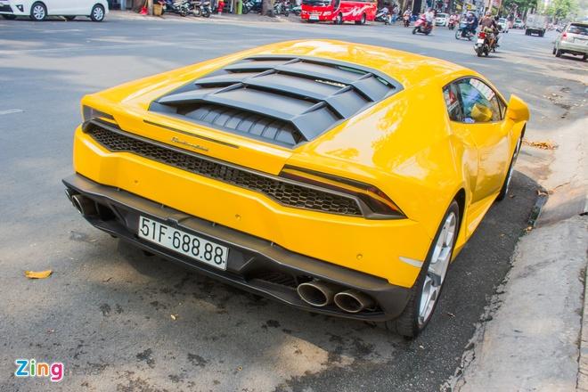 Lamborghini Huracan bien dep o Sai Gon anh 5