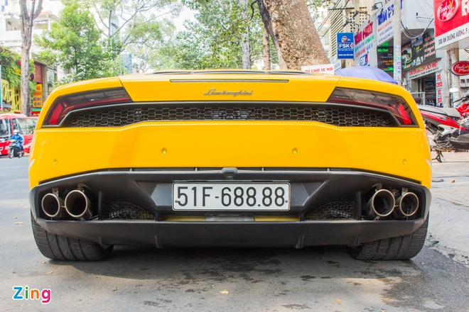 Lamborghini Huracan bien dep o Sai Gon anh 6