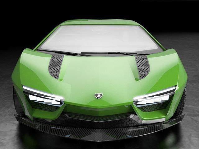 Raton - sieu xe phai sinh tu Lamborghini Aventador hinh anh 10