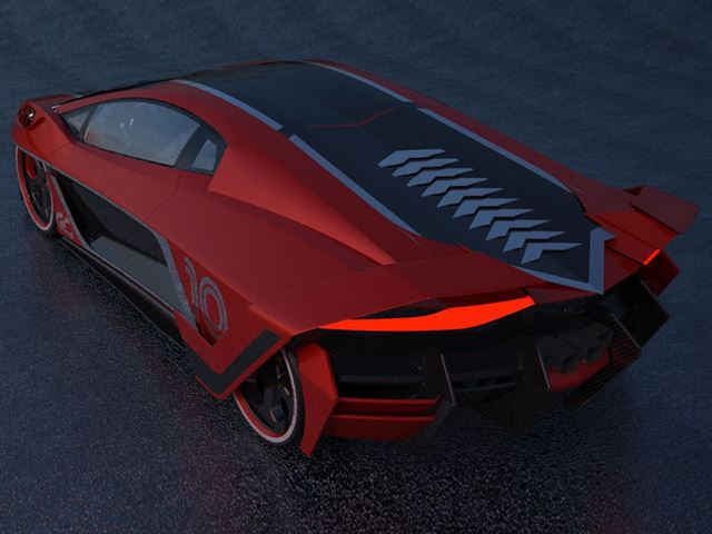 Raton - sieu xe phai sinh tu Lamborghini Aventador hinh anh 2