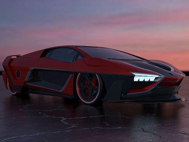 Raton - sieu xe phai sinh tu Lamborghini Aventador hinh anh 4