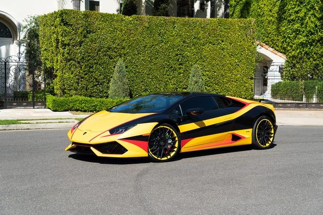 Lamborghini Huracan do dan ao 3 mau hinh anh 3