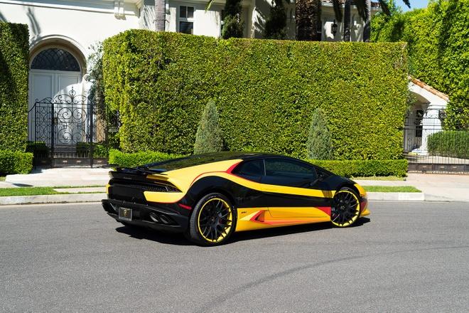Lamborghini Huracan do dan ao 3 mau hinh anh 9