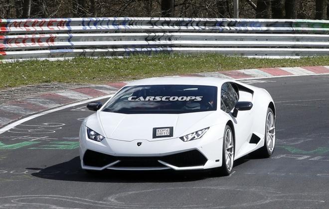 Lamborghini Huracan phien ban thu 6 lo dien hinh anh 1