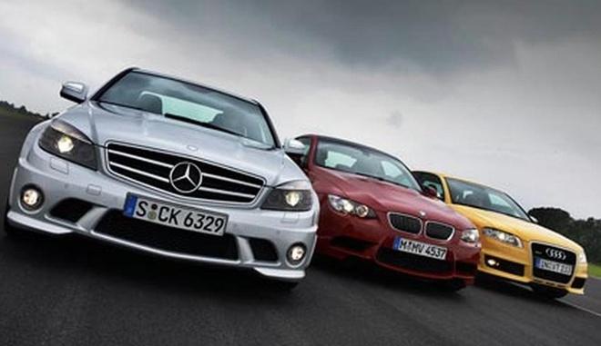 Mercedes lan dau vuot BMW, Audi hinh anh