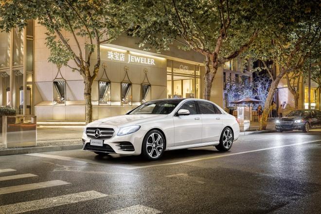 Mercedes ra mat E-Class LWB nhu Maybach mini hinh anh 1