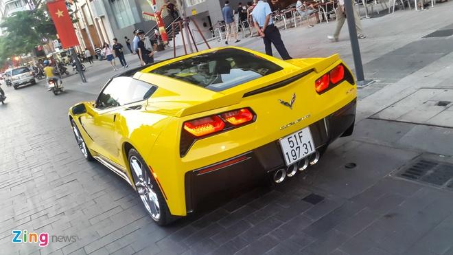Hang hiem Corvette C7 Stingray dau tien ra bien trang hinh anh 3