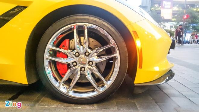 Hang hiem Corvette C7 Stingray dau tien ra bien trang hinh anh 6