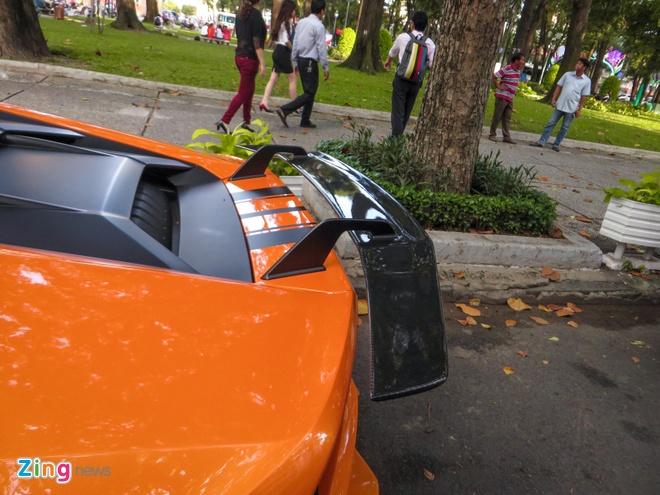 Loat sieu xe Lamborghini do dinh dam tai Viet Nam hinh anh 12