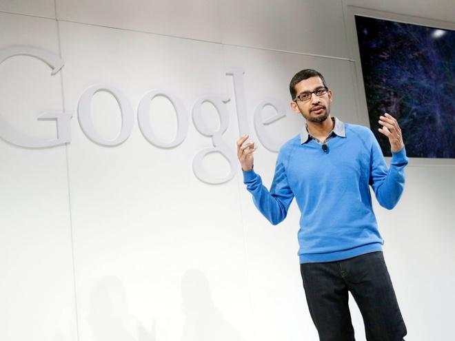 Tai sao linh Google khoai lam viec cho Sundar Pichai? hinh anh