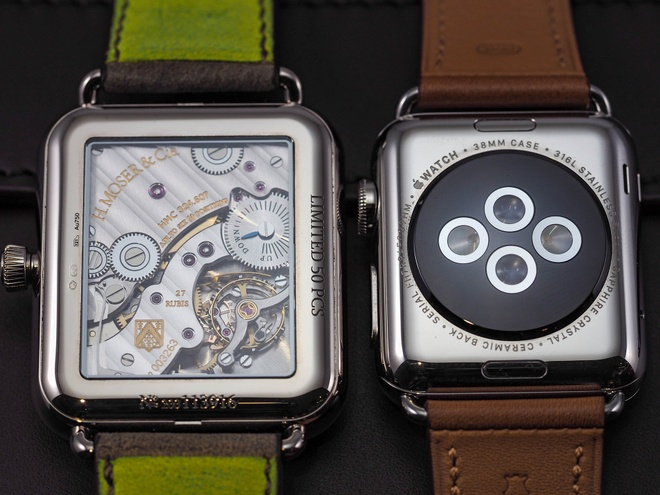 Dong ho giong Apple Watch gia hon 500 trieu ve VN hinh anh 5