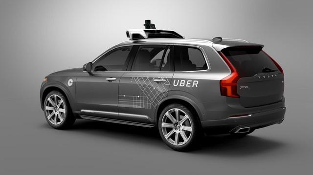 Uber thu nghiem mien phi xe tu lai Volvo anh 1