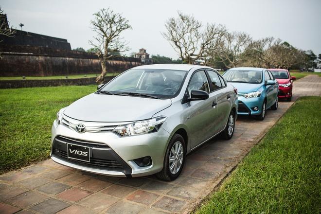 Toyota Vios thong tri thi truong oto Viet hai nam qua hinh anh 2