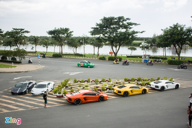 Dan Lamborghini offline tai Sai Gon hinh anh 1