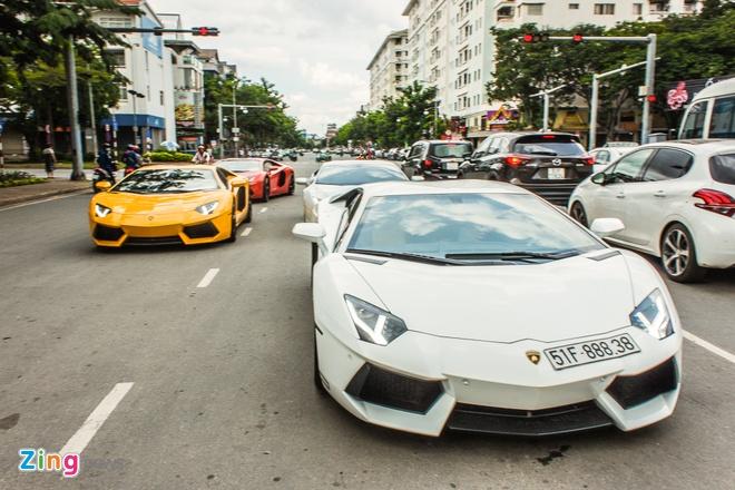 Dan Lamborghini offline tai Sai Gon hinh anh 2