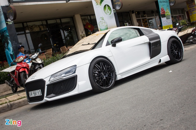 Audi R8 do o Sai Gon anh 3