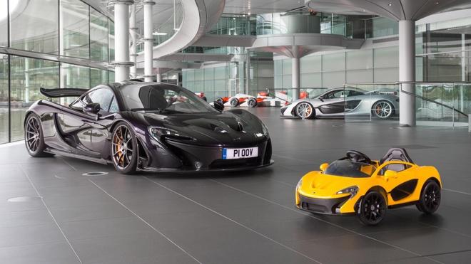 McLaren P1 mui tran chay dien cho tre me sieu xe hinh anh 3