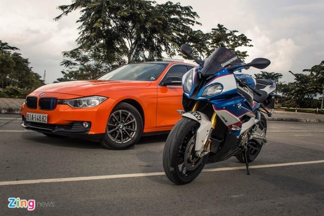 Sieu mo to BMW S1000RR len tem M Series tai Sai Gon hinh anh
