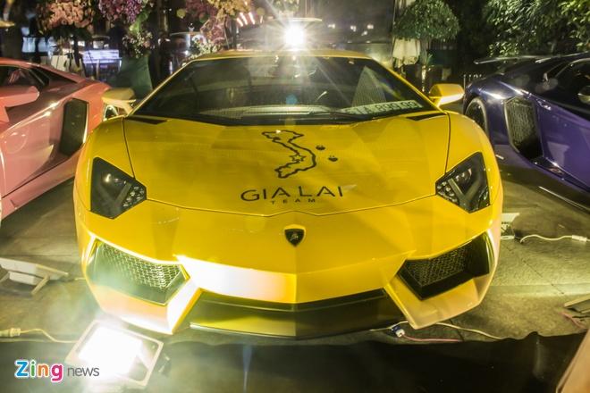 Lamborghini Aventador khac lua o Sai Gon hinh anh
