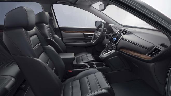 Honda CR-V 2017 ra mat: Vo mong xe 7 cho hinh anh 3