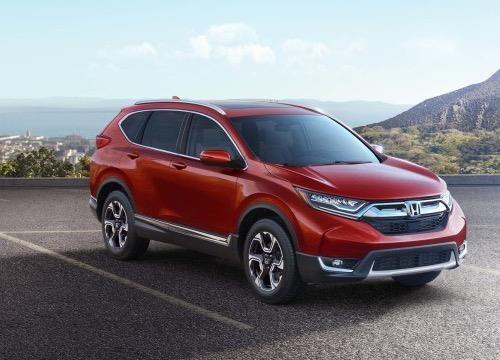 Honda CR-V 2017 ra mat: Vo mong xe 7 cho hinh anh